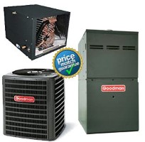 5 Ton Goodman GSX160601F CHPF4860D6D GMS81205DN SEER 15 Air Conditioner GAS FURNACE Split System