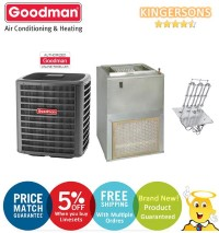 2 Ton Goodman GSX160241F AWUF310516A SEER 15 Air Conditioner Split System