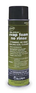 Coil Cleaner No Rinse Aerosol 18 Oz 1ANJ6