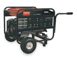 DAYTON Portable Generator 5000 Rated Watts