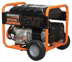 GENERAC Portable Generator 5000 Rated Watts