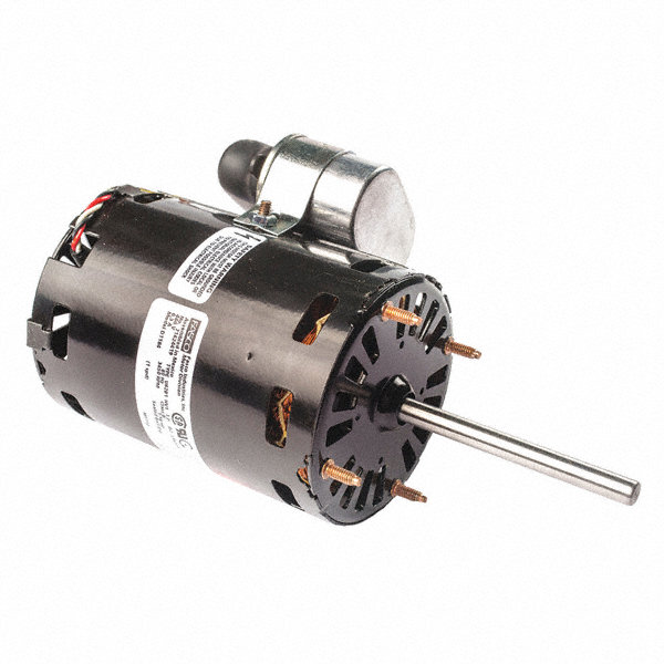 FASCO 1/16 HP Condenser Fan Motor, Permanent Split Capacitor, 3450 Nameplate RPM, 208-230 Voltage