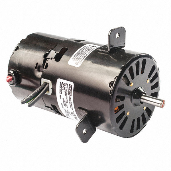 FASCO 1/12 HP Condenser Fan Motor, Shaded Pole, 3000 Nameplate RPM, 460 VoltageFrame Non-Standard