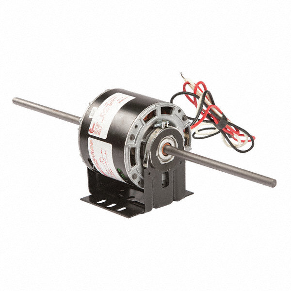 1/6 HP Room Air Conditioner Motor,Shaded Pole,1050 Nameplate RPM,230 Voltage,Frame 42Y