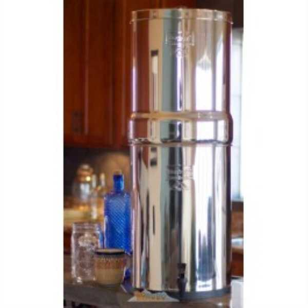 Berkey CRN8x2-BB Crown Berkey 6 Gal. Stainless Steel Water Purifier - STAINLESS STEEL