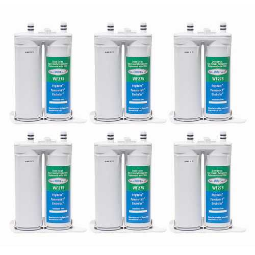 Aqua Fresh Replacement Water Filter Cartridge for Electrolux E23BC68JSS (6-Pack)