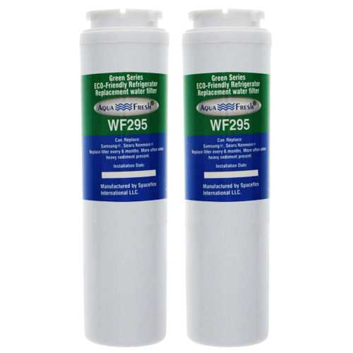 Aqua Fresh UKF8001 / WF295 Replacement Water filter for Maytag MSD2651KES Refrigerator Model- 2Pk