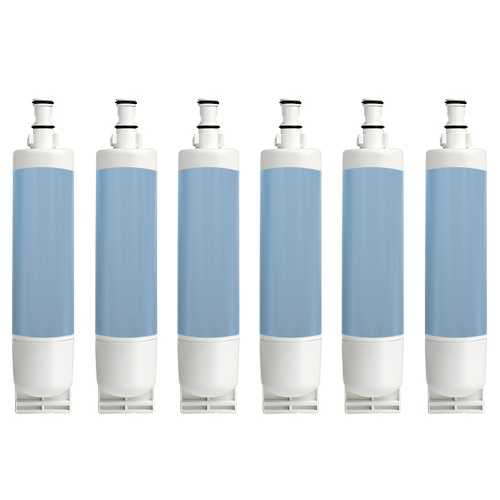 Replacement Water Filter Cartridge For Kenmore 57076 Refrigerators - 6 Pack