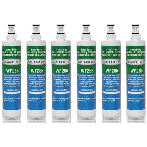 Aqua Fresh Water Filter Cartridge For Kenmore 51064 Refrigerators - 6 Pack
