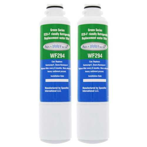 AquaFresh Replacement Water Filter for Samsung RF28HMEDBSR/AA Refrigerator Model (2 Pack)