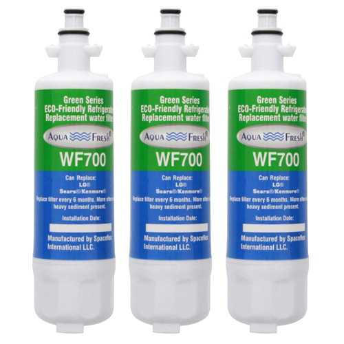 AquaFresh Replacement Water Filter for LG LFXS24623S Refrigerators - (3 Pack)