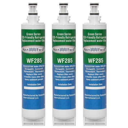 Aqua Fresh Water Filter Cartridge For Kenmore 51049 Refrigerators - 3 Pack