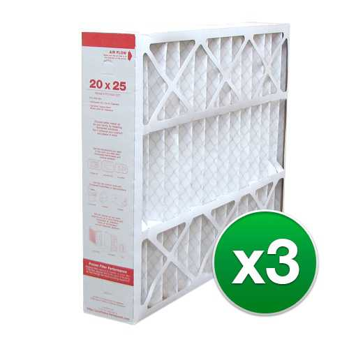 Replacement Air Filter for Honeywell 20x25x4 MERV 11 (3-Pack) Replacement Air Filter
