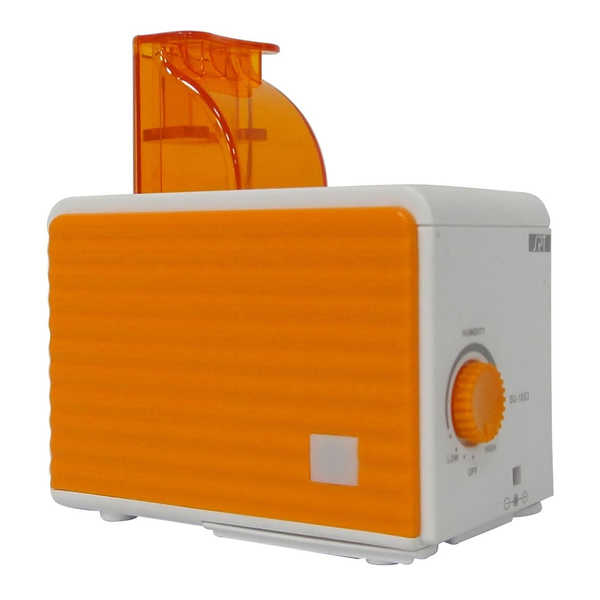 SPT Orange/ White Ultrasonic Humidifier - Orange/White