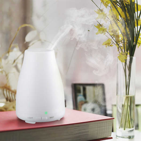 Cool Mist Ultrasonic 6-hour Humidifier/Air Purifier With Night Light - Cool Mist Ultrasonic Humidifier