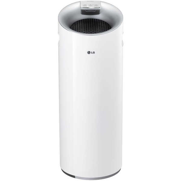 LG PuriCare Tower Smart Air Quality Sensor LoDecibel Operation 3-stage Filter Air Purifier - White