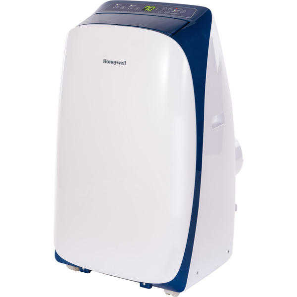 Honeywell HL10CESWB HL Series 10,000 BTU Portable Air Conditioner with Remote Control - White/Blue