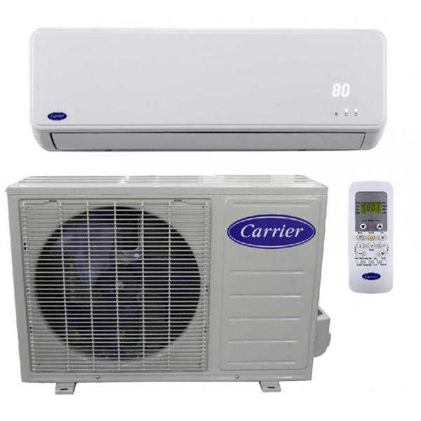 Carrier 38MFC009140MFC0091 9K Btu 15 Seer 115V Single Zone Mini Split Air Conditioning