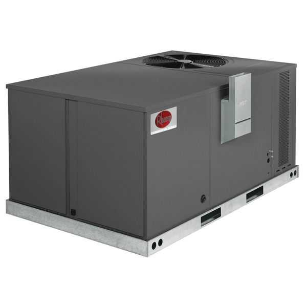 Rheem RKPN-A048CM08E - Commercial Classic 4 Ton, 14 SEER, 80 KMBH, 208-230 V, 3 Phase, Gas Electric Unit, R-410A