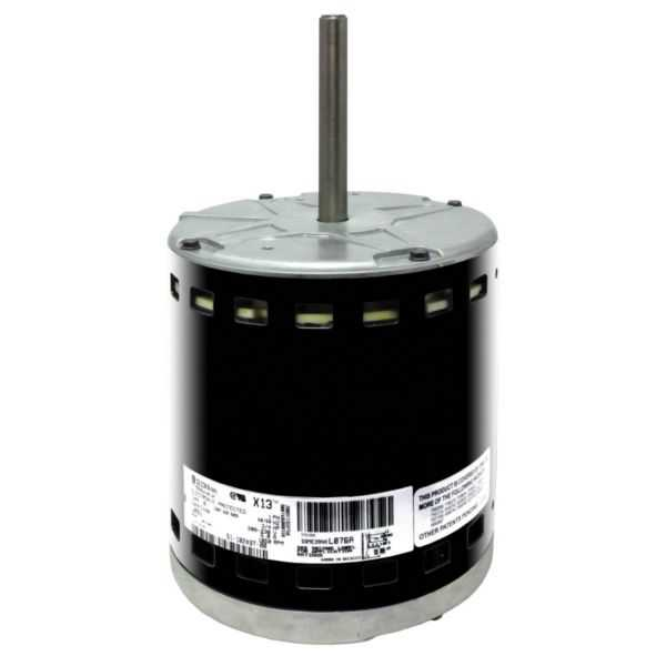Genteq 51-102497-00 - Motor and Module - X-13 w/Resilient Rotor (230V - 3/4 HP) - BLANK Programmable Motor and Module
