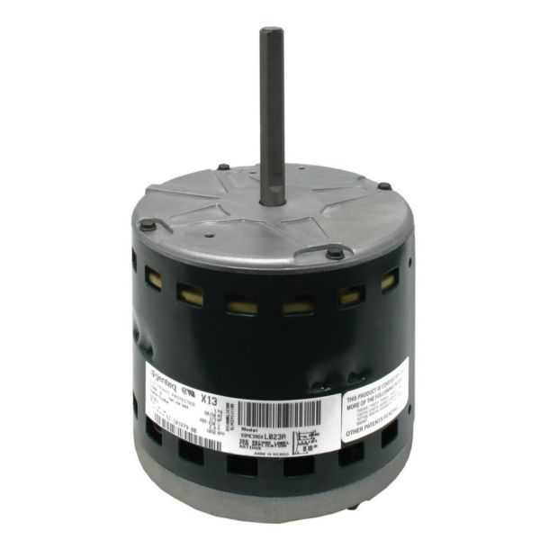 Genteq 51-101879-00 - Motor and Module - X-13 (230V - 1/3 HP) - BLANK Programmable Motor and Module