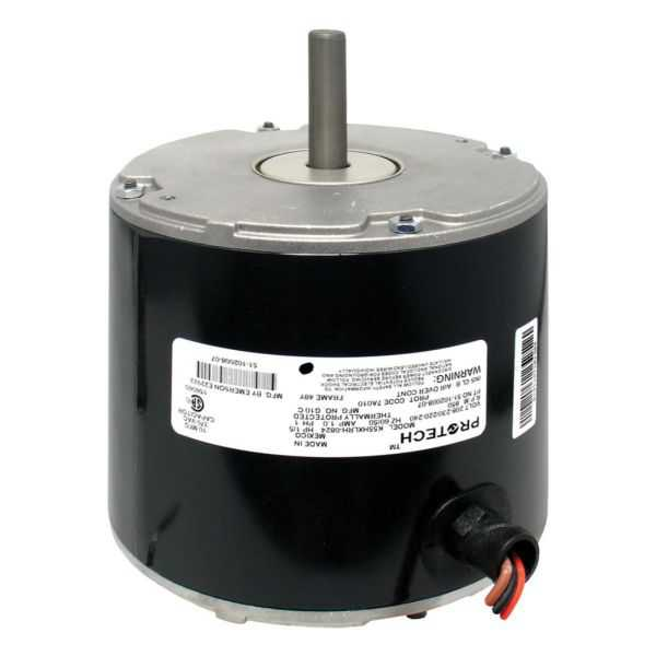 Emerson Climate 51-102500-04 - Condenser Motor - 1/5 HP 208-230/1/50-60 (825 rpm/1 speed)