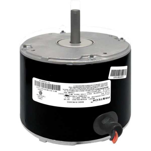 Emerson Climate 51-102500-03 - Condenser Motor - 1/6 HP 208-230/1/50-60 (825 rpm/1 speed)