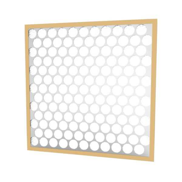 Glasfloss PTA15251 - Synthetic Heavy-Duty Disposable Panel Filter, 15' X 25' X 1'