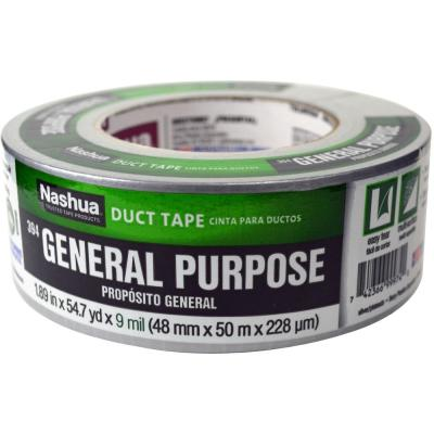 1-7/8 in. x 55 yd. 394 General Purpose Duct Tape in Silver