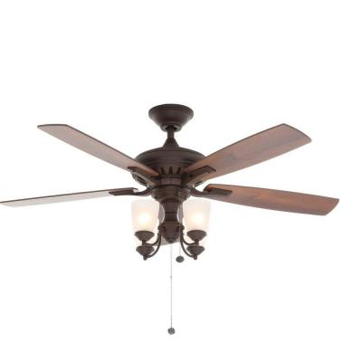 Bristol Lane 52 in. Oil-Rubbed Bronze Ceiling Fan