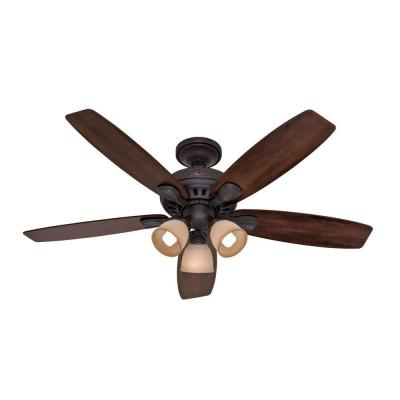 Highbury 52 in. New Bronze Indoor Ceiling Fan