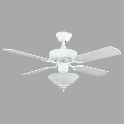 Heritage Square 42 in. Indoor White Ceiling Fan
