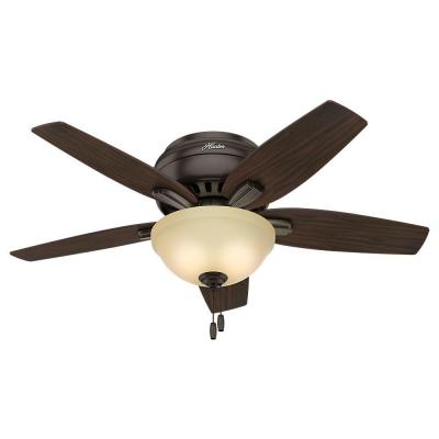 Newsome 42 in. Indoor Premier Bronze Ceiling Fan
