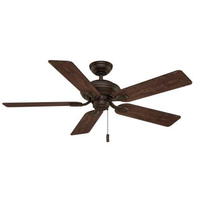Utopian 52 in. Outdoor Brushed Cocoa Ceiling Fan