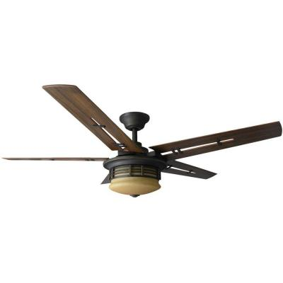 Pendleton 52 in. Oil Rubbed Bronze Indoor Ceiling Fan