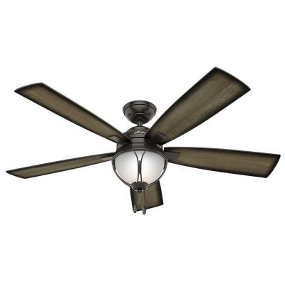 Sun Vista 54 in. LED Outdoor Noble Bronze Ceiling Fan