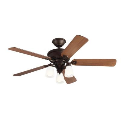 Bravo 52 in. English Bronze Indoor Ceiling Fan