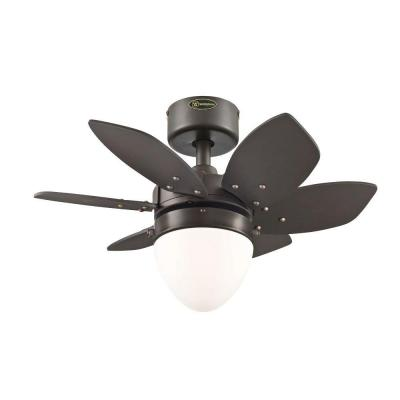 Origami 24 in. Espresso Indoor Ceiling Fan