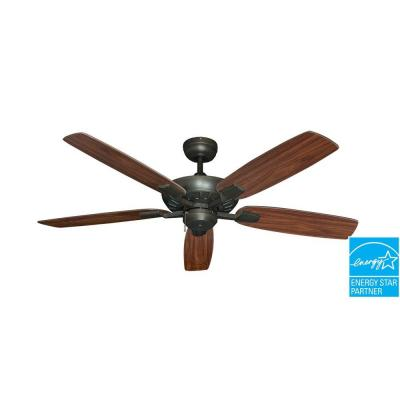 Saturn 52 in. Oil Rubbed Bronze Ceiling Fan
