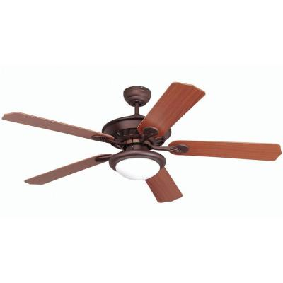 Lindsey Collection 52 in. Oil Rubbed Bronze Indoor Ceiling Fan with Light Kit
