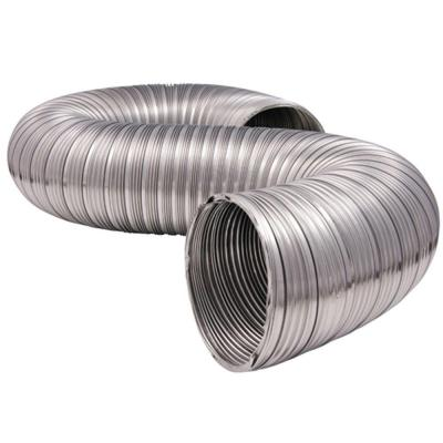 4 in. x 8 ft. Heavy Duty Semi-Rigid Aluminum Duct