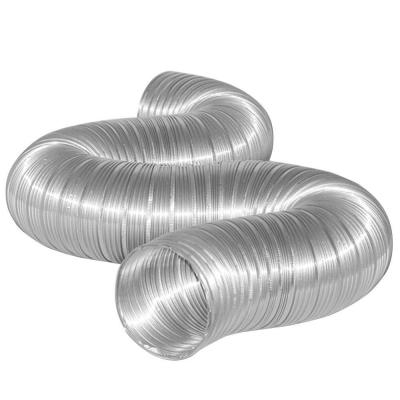 4 in. x 8 ft. Semi-Rigid Aluminum Duct