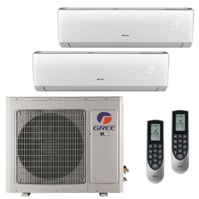 Multi-21 Zone 24,000 BTU 2 Ton Ductless Mini Split Air Conditioner with Heat, Inverter, Remote - 230-Volt/60Hz