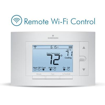 Sensi Wi-Fi Programmable Thermostat for Smart Home, Compatible with Amazon Echo