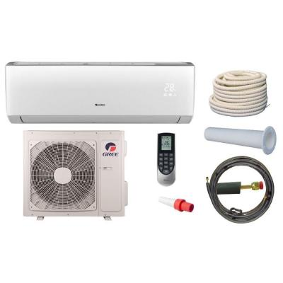 Vireo 24,000 BTU 2 Ton Ductless Mini Split Air Conditioner and Heat Pump Kit - 208-230V/60Hz